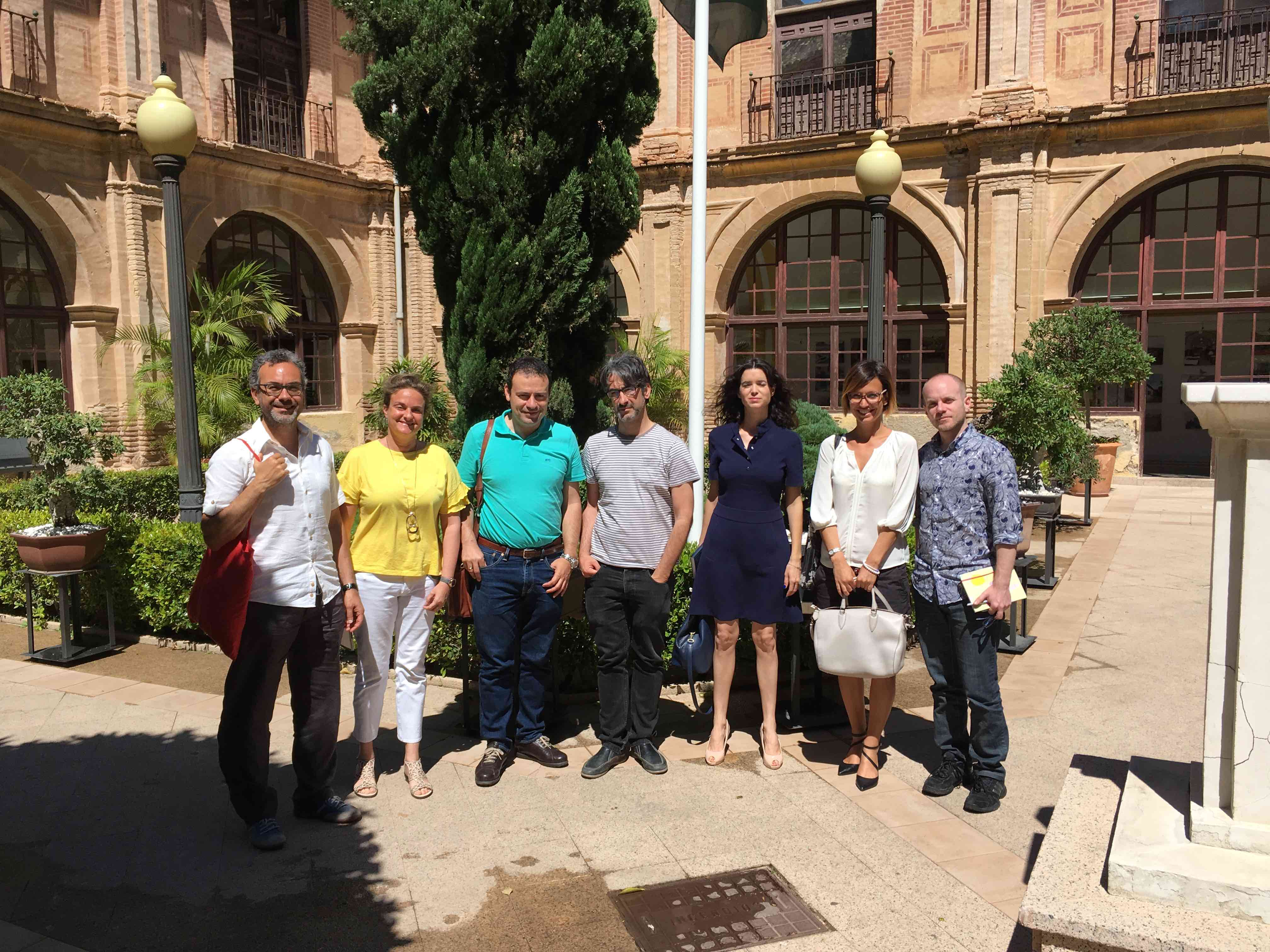 ALICE at UCAM in Murcia, Spain