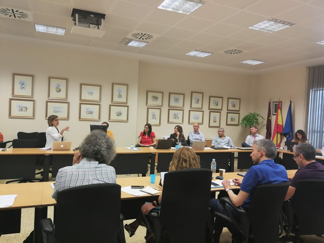 ALICE project partnership meeting in Murcia, Spain (June 2018)