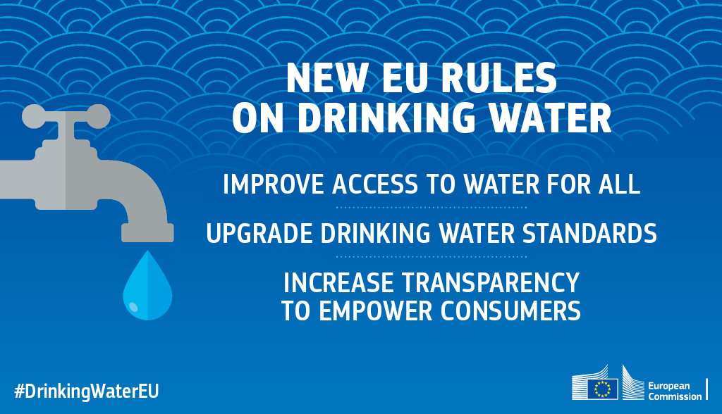 Proposal adopted for new EU rules on drinking water!